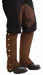 Steampunk Brown Spats